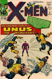 Cover for The X-Men (Marvel, 1963 series) #8