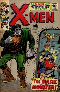 Cover Thumbnail for The X-Men (Marvel, 1963 series) #40