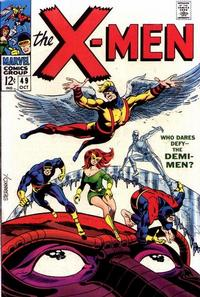 Cover Thumbnail for The X-Men (Marvel, 1963 series) #49