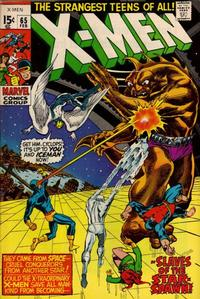 Cover Thumbnail for The X-Men (Marvel, 1963 series) #65