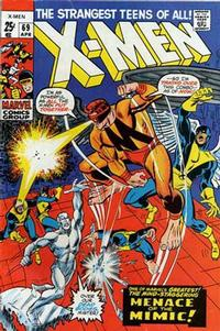 Cover Thumbnail for The X-Men (Marvel, 1963 series) #69