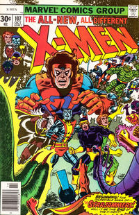 Cover Thumbnail for The X-Men (Marvel, 1963 series) #107