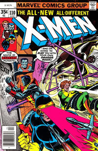 Cover Thumbnail for The X-Men (Marvel, 1963 series) #110 [Regular Edition]
