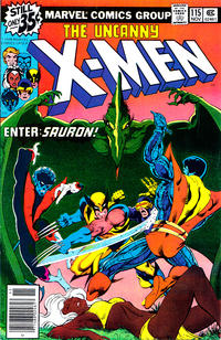 Cover for The X-Men (1963 series) #115