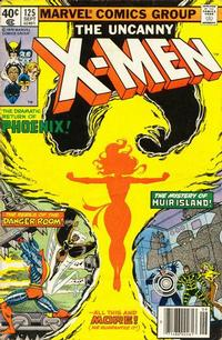 Cover Thumbnail for The X-Men (Marvel, 1963 series) #125 [Direct Edition]