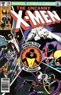 Cover for The X-Men (Marvel, 1963 series) #139 [Direct Edition]