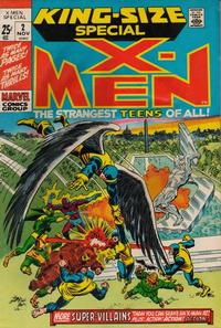 Cover Thumbnail for X-Men Annual (Marvel, 1970 series) #2