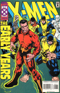 Cover Thumbnail for X-Men: The Early Years (Marvel, 1994 series) #8