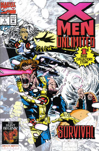 Cover Thumbnail for X-Men Unlimited (Marvel, 1993 series) #1 [Direct Edition]