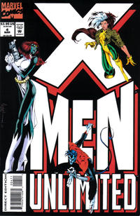 Cover Thumbnail for X-Men Unlimited (Marvel, 1993 series) #4 [Direct Edition]
