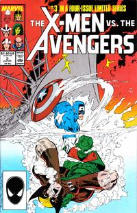 Cover Thumbnail for The X-Men vs. The Avengers (Marvel, 1987 series) #3