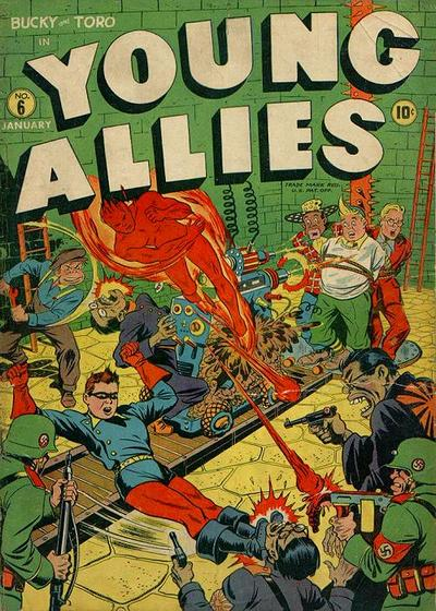 Cover for Young Allies (Marvel, 1941 series) #6