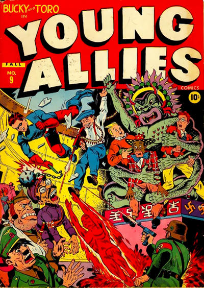 Cover for Young Allies (Marvel, 1941 series) #9