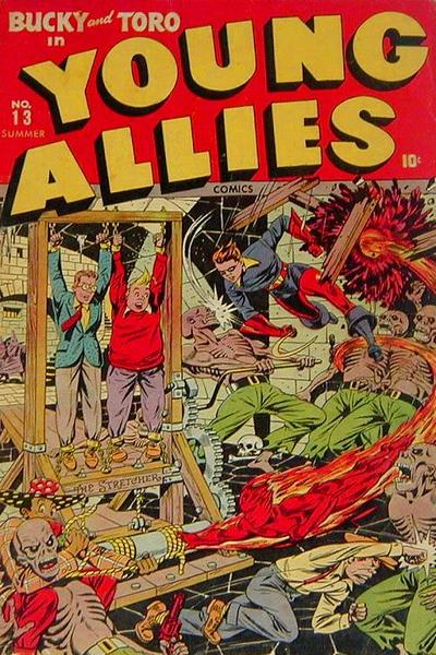 Cover for Young Allies (1941 series) #13