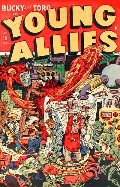 Cover for Young Allies (Marvel, 1941 series) #15