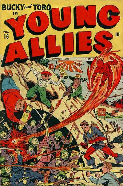 Cover for Young Allies (Marvel, 1941 series) #16