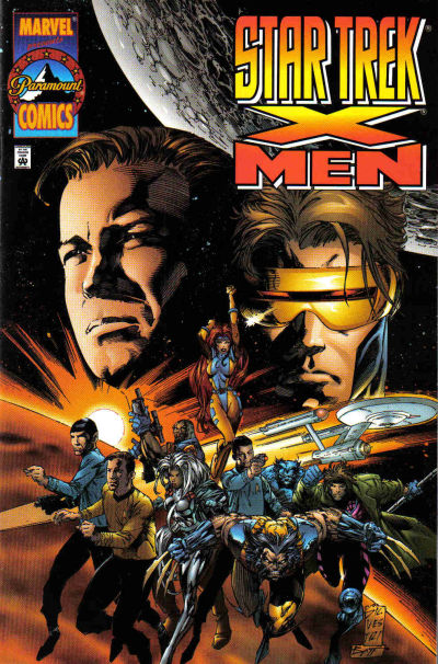 Cover for Star Trek / X-Men (1996 series) #1
