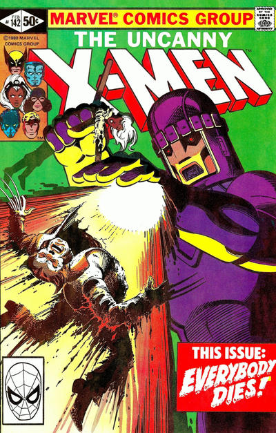 Cover for The Uncanny X-Men (1981 series) #142