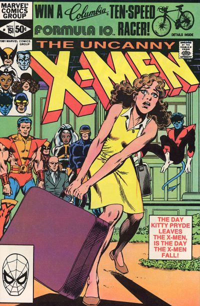 Cover for The Uncanny X-Men (Marvel, 1981 series) #151