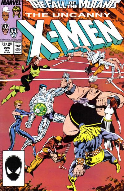 Cover for The Uncanny X-Men (Marvel, 1981 series) #225 [Direct]