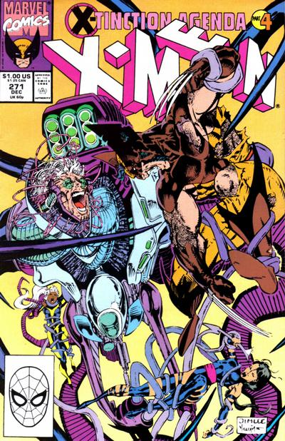 Cover for The Uncanny X-Men (Marvel, 1981 series) #271