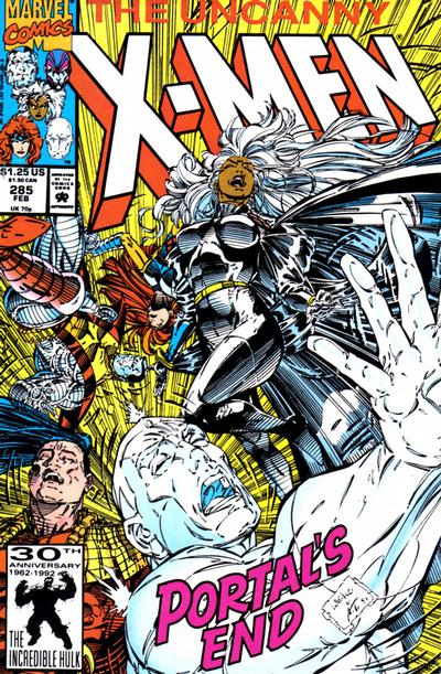 Cover for The Uncanny X-Men (Marvel, 1981 series) #285 [Direct Edition]