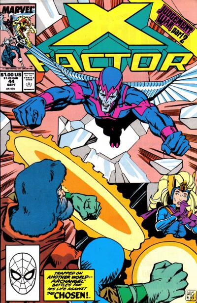 Cover for X-Factor (Marvel, 1986 series) #44 [Direct Edition]