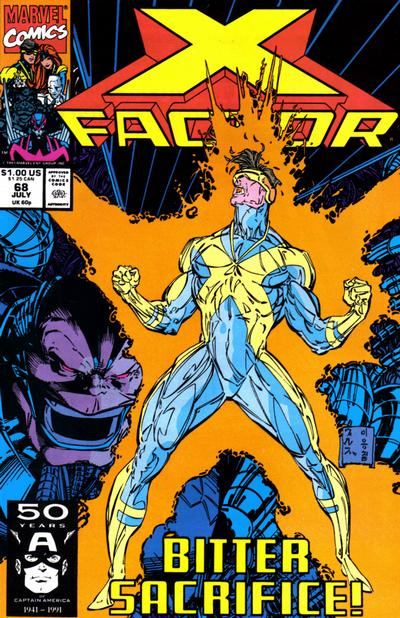 Cover for X-Factor (Marvel, 1986 series) #68 [Direct Edition]