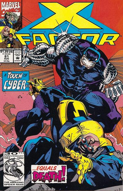 Cover for X-Factor (1986 series) #81 [Direct Edition]