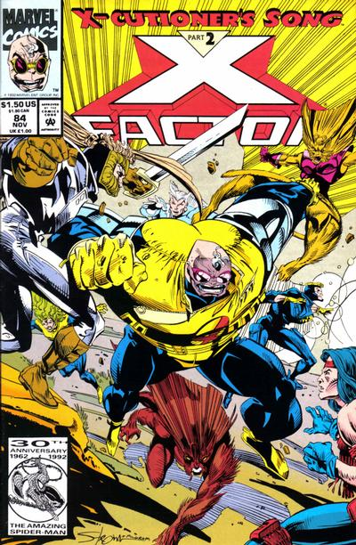 Cover for X-Factor (Marvel, 1986 series) #84 [Direct Edition]