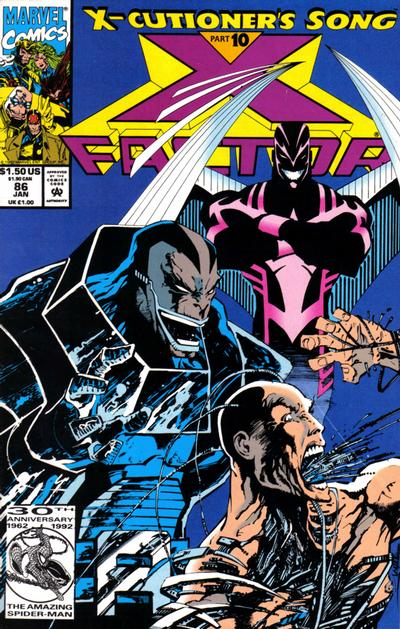 Cover for X-Factor (1986 series) #86