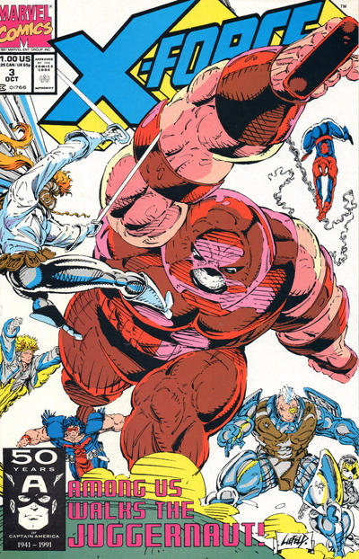 Cover for X-Force (1991 series) #3 [Newsstand]