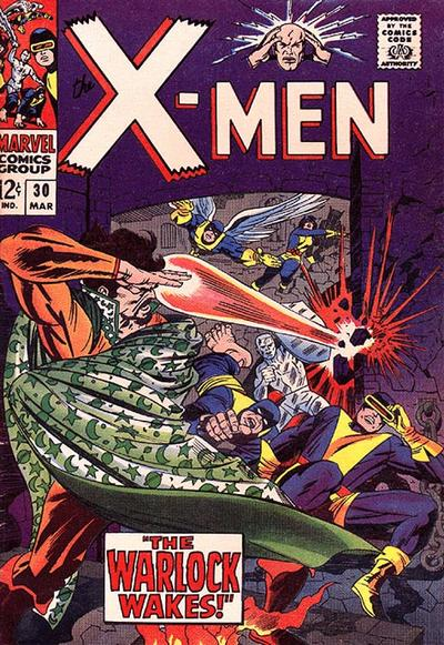 Cover for The X-Men (1963 series) #30