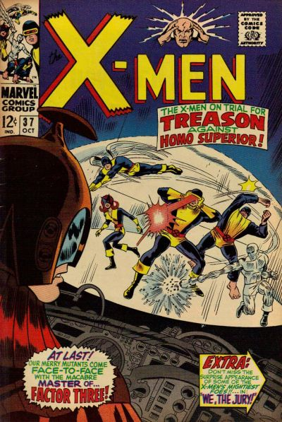 Cover for The X-Men (Marvel, 1963 series) #37