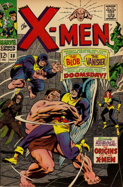 Cover for The X-Men (Marvel, 1963 series) #38