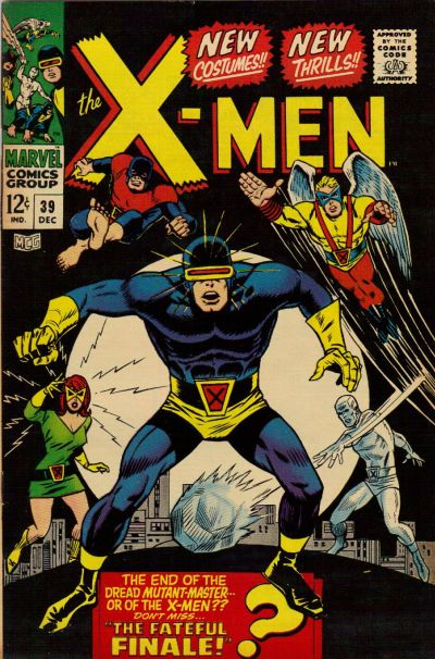 Cover for The X-Men (1963 series) #39