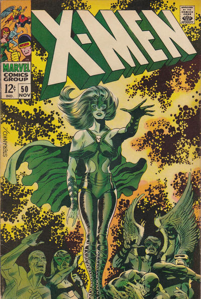 Cover for The X-Men (1963 series) #50