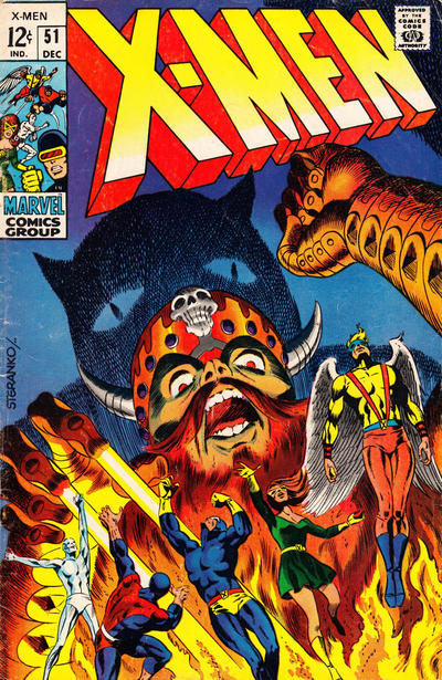 Cover for The X-Men (1963 series) #51