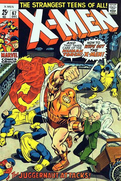 Cover for The X-Men (Marvel, 1963 series) #67