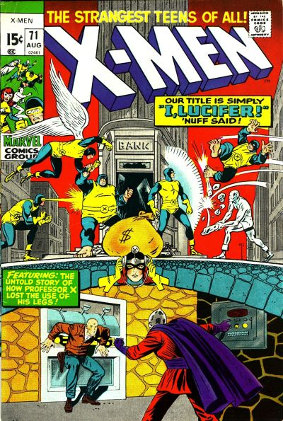 Cover for The X-Men (Marvel, 1963 series) #71