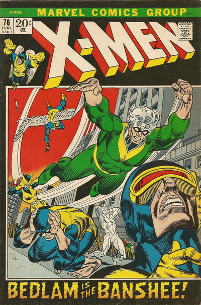 Cover for The X-Men (1963 series) #76