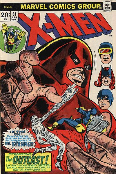 Cover for The X-Men (1963 series) #81