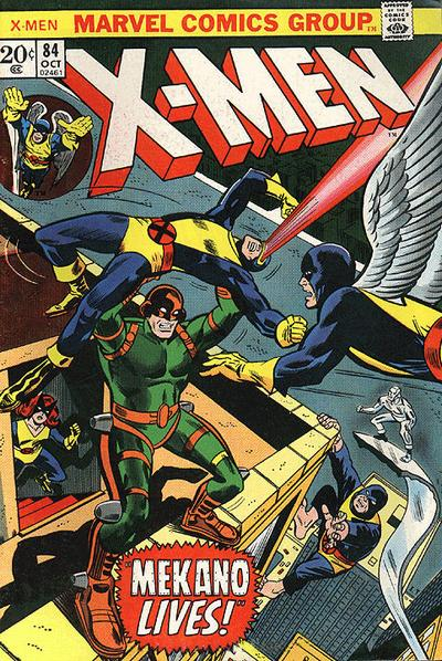 Cover for The X-Men (Marvel, 1963 series) #84