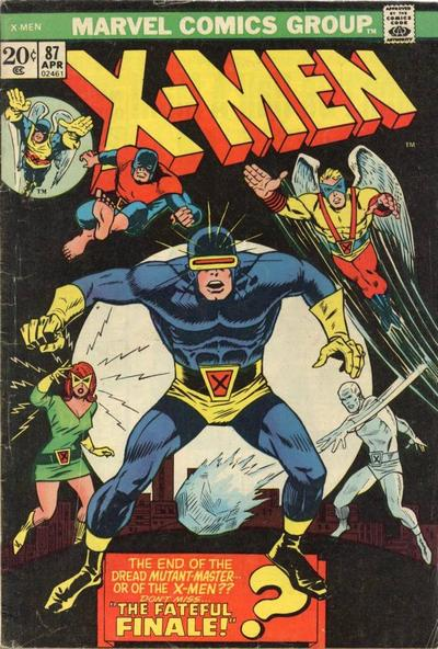 Cover for The X-Men (Marvel, 1963 series) #87