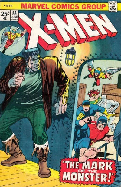Cover for The X-Men (Marvel, 1963 series) #88