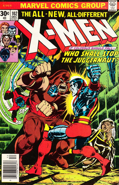 Cover for The X-Men (Marvel, 1963 series) #102
