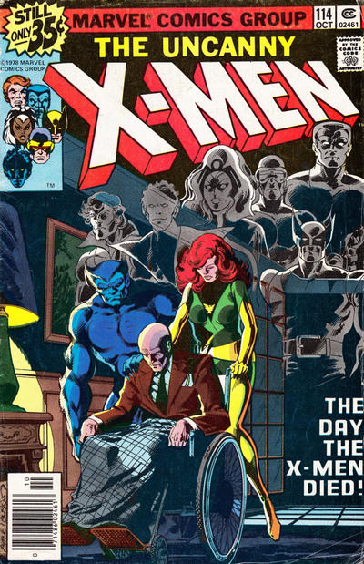 Cover for The X-Men (1963 series) #114