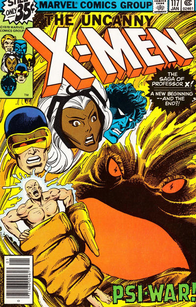 Cover for The X-Men (1963 series) #117