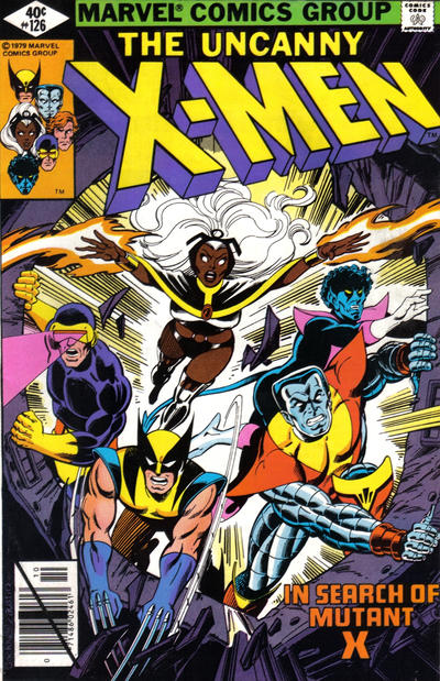 Cover for The X-Men (Marvel, 1963 series) #126 [Newsstand Edition]