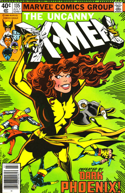 Cover for The X-Men (Marvel, 1963 series) #135 [Direct Edition]